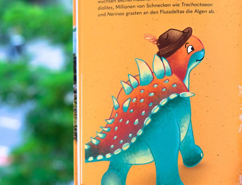 digitale Dino-Illustration