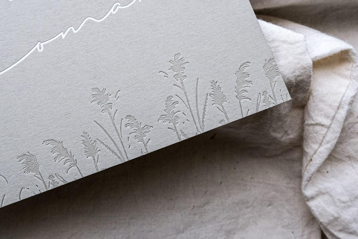 Gräser-Illustration