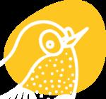 illustration commissions inquiry   Sabrillu   bird illustration yellow
