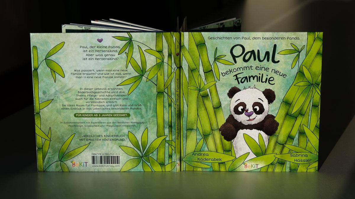 Paul der Panda - Kinderbuch Adoptivkinder