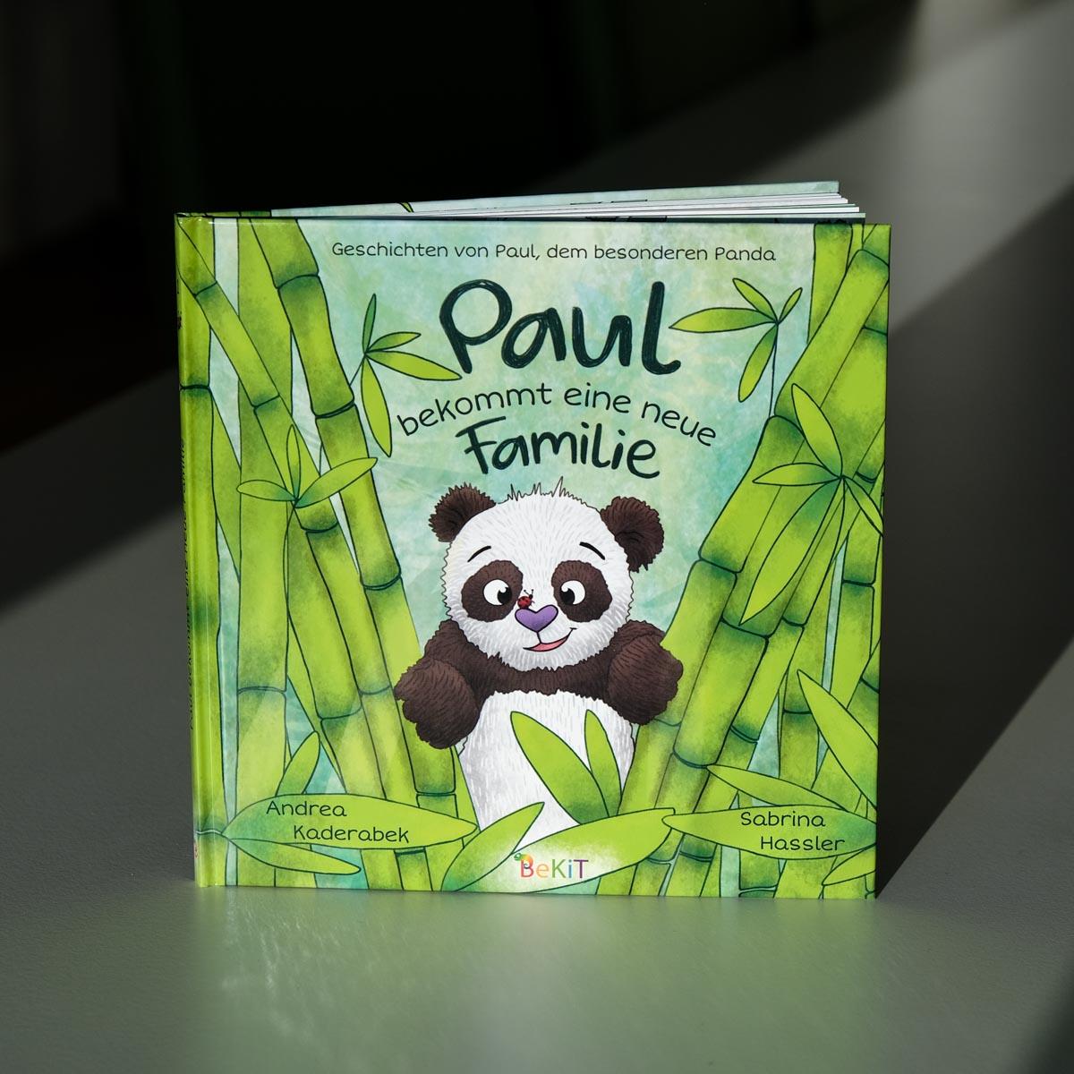 Kinderbuch-Illustration - Sabrina Hassler - Paul der Panda