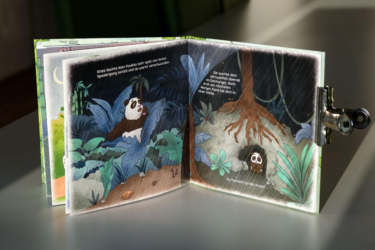 Bilderbuch Paul der Panda